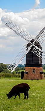 Windmill at Avoncroft Museum of Historic Buildings, Bromsgrove
